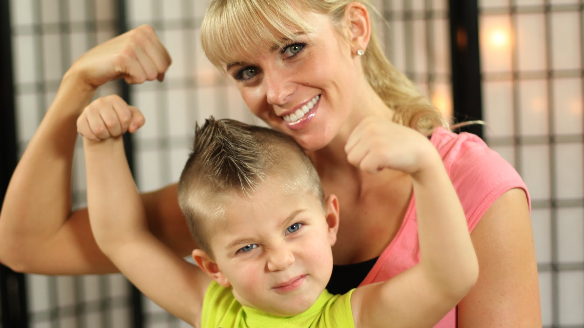 Ten Ways to Workout with the Kids