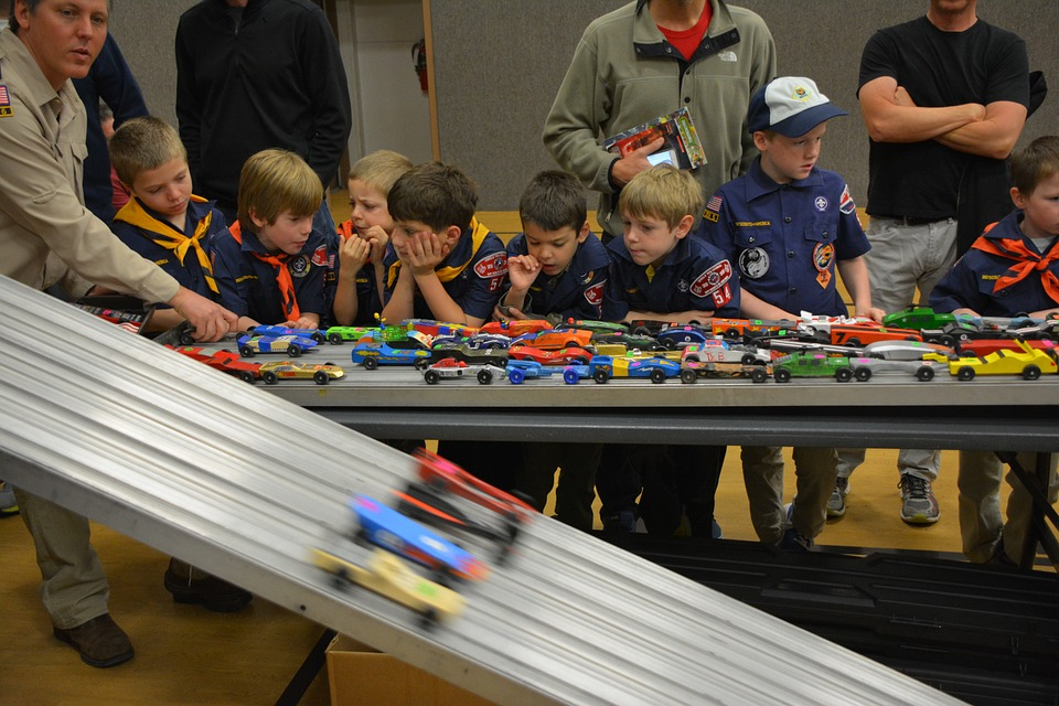 What can be the Natural Craft Projects for Cub Scouts