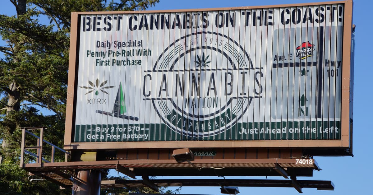 Seattle Debuts Nations First Billboard For Cannabis Products